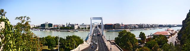 Puente Santa Isabel Géllert Danubio Budapest