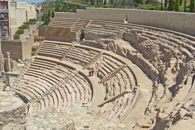 Gran edificio del Teatro Romano s I a c