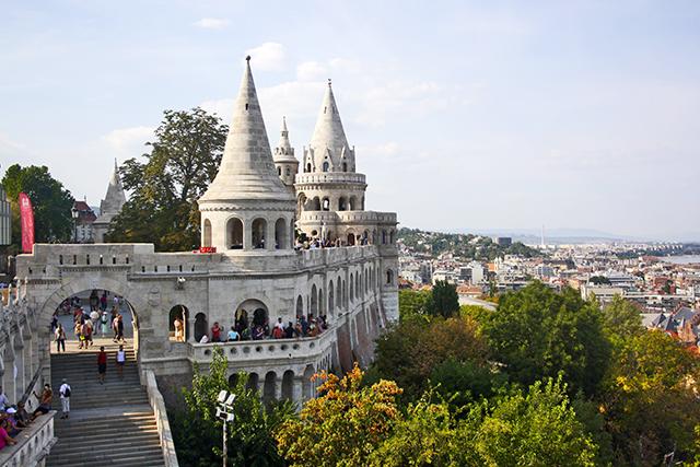 Torre Bastión de los Pescadores vistas Budapest