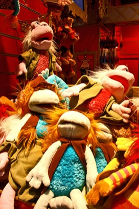 Fraggle Rock Jim Henson Hamleys Londres