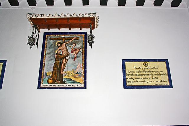 Retablo crucifixión centro histórico Jaén