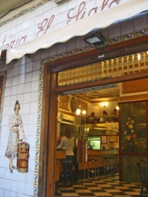 Horchatería Santa Catalina Alboraya barrio El Carmen Valencia