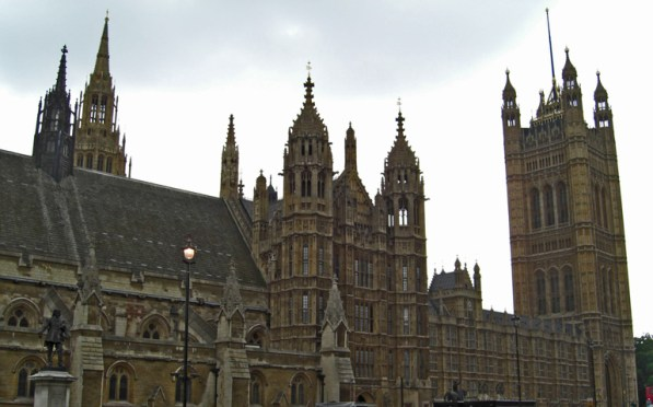 Panorámica Houses of Parliament Londres