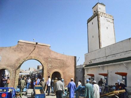 Calle Mohammed Zerktouni entrada Essaouira