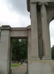 Entrada Hyde Park Corner Londres