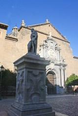 Escultura iglesia San Justo Pastor Granada