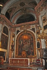 Altar mayor Iglesia Santos Justos y Pastor Granada