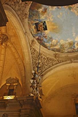 Descenso virgen Misteri Elche Patrimonio de la Humanidad Catedral Santa María