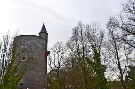 Torre Poertoren beatario Brujas Belgica