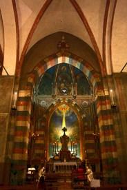 Interior estilo bizantino Basílica Padua