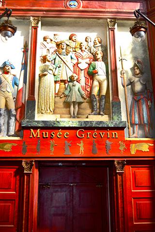 Fachada esculturas Museo Grévin Arthur Meyer París