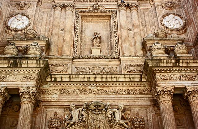 Espectacular fachada renacentista Juan de Orea Catedral Almería