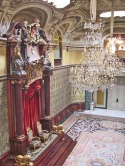 Interior del Palau Reial de Pedralbes