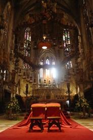 Altar mayor catedral gótica Palma Mallorca