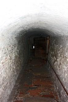 Interior túnel Castillo de los Este Ferrara