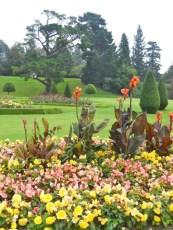Italian Garden spectacular at the mansion