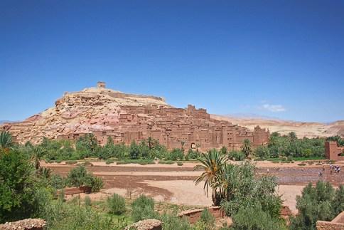Vistas Kasba Ait Benhaddou Patrimonio UNESCO Marruecos