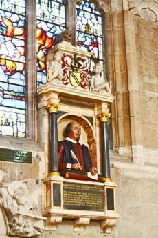 Altar púlpito Shakespeare Iglesia Sagrada Trinidad Stratford-Upon-Avon