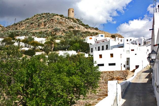 Vistas atalaya Níjar Cabo de Gata Almería