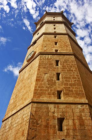 Torre reloj campanario Fadrí Castellón de la Plana