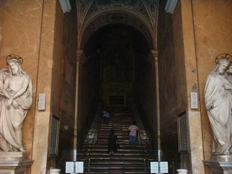 La Scala Santa a la Chiesa di San Iovanni in Latterano