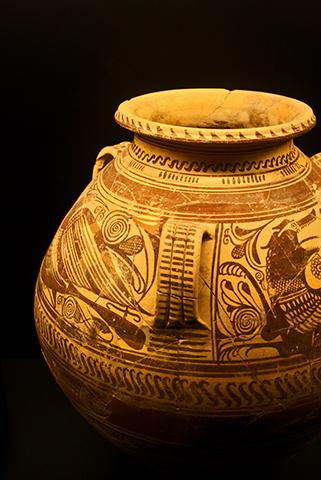 Vasija Iberia resto arqueología Museo Alcúdia Elche