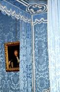 Habitación azul retrato Francisco I castillo Chambord