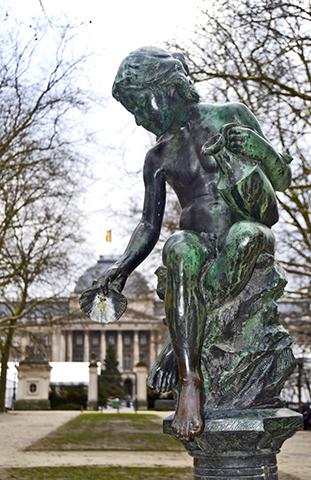 Escultura Le Quartier Royal Bruselas
