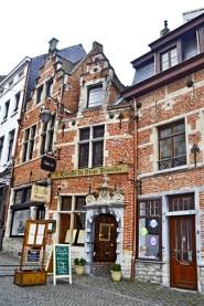 Casas típicas quartier du Sablon Bruselas