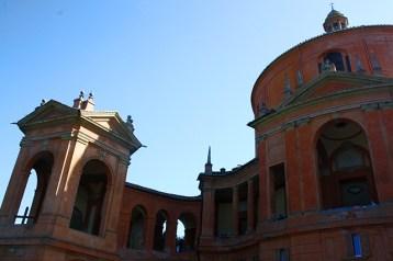 Fachada Santuario Nuestra Señora San Luca Bolonia