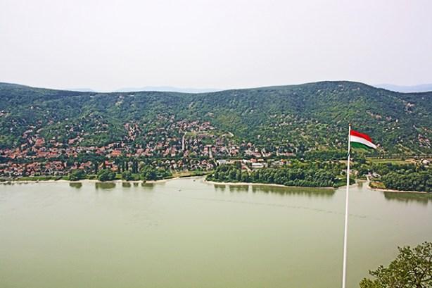 Estrecho Danubio Visegrád Hungría