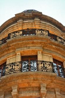 Picado balcones hierro forjado Casa Mariposas Almería