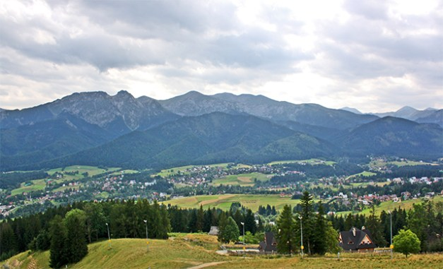 Panorámica Montes Tatras Zakopane Polonia