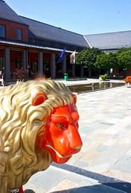 León Museo porcelana Herend Hungría