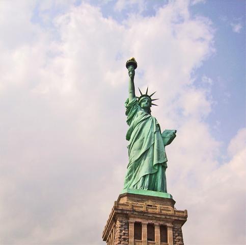 Estatua Libertad Liberty Island Nueva York
