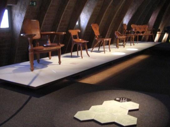 Models de cadires Antoni Gaudi