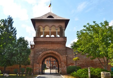 Entrada Museo Palacio Monasterio Mogosoaia Rumanía