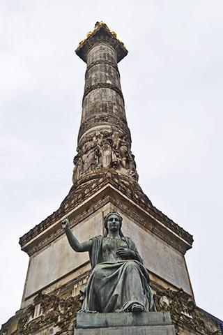 Monumento al soldado desconocido Calle Real Bruselas