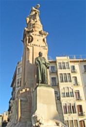 Monumento Canalejas Explanada España Alicante