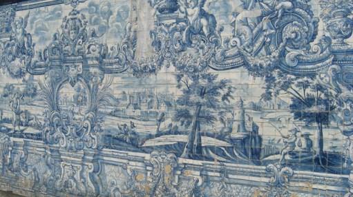 Azulejos interior Sé Oporto Portugal