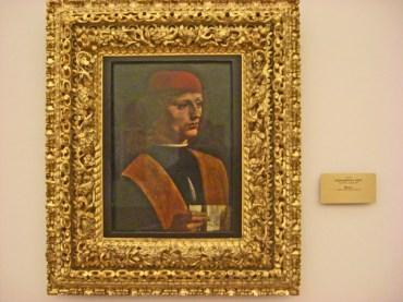 Retrato Pinacoteca di Brera Milán