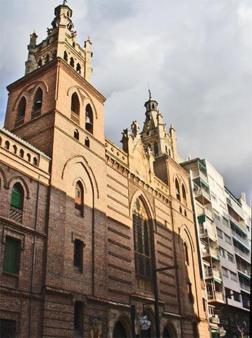 Iglesia Sagrado Corazón Gran Vía Colón Granada