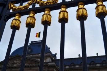 Valla Palacio Real Bruselas