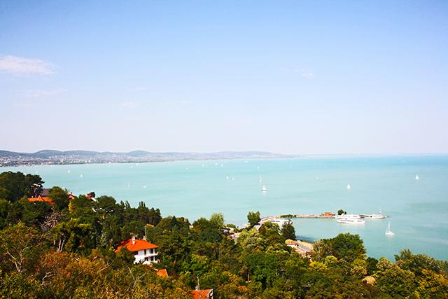 Lago Balatón Hungría