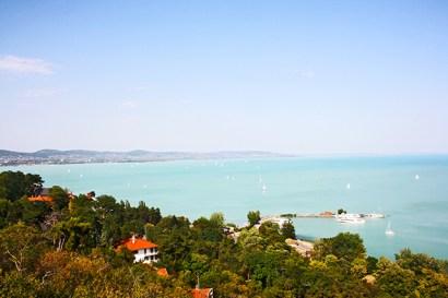 Nepszeruen vistas Lago Balaton