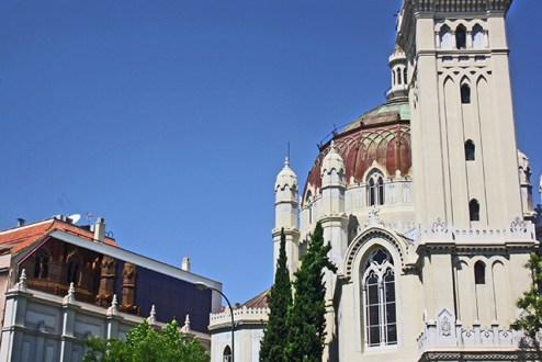 No es el Parlamento hungaro pero es en la calle Alcala