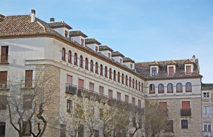 Palacio Episcopal y Palacio Casa del Dean en la plaza de la Catedral jienense