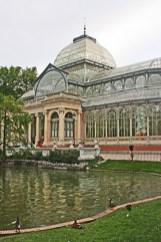 Palacio de Cristal Parque Retiro Madrid