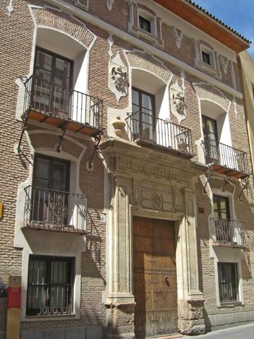 Fachada Palacio de las Balsas Murcia