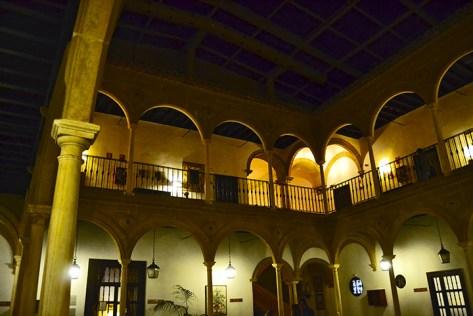Palacio del Dean Ortega espacio de armonia donde el Parador Nacional de Turismo se ubica presumiendo de claustro
